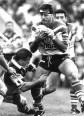 Dean Pay in action for Canterbury-Bankstown. Pay scored a try in the 1994 Ashes decider.
